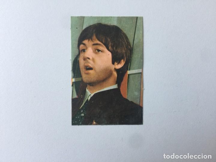 PAUL MCCARTNEY CROMO Nº 215 CHOCOLATES VICTORIA (Coleccionismo - Cromos y Álbumes - Cromos Antiguos)
