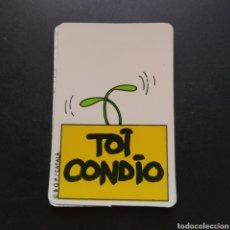 Coleccionismo Cromos antiguos: CROMO DEPEGADO - TOI CONDIO - BOLLY TOIS - BOLLYCAO - ENVIÓ GRATIS A PARTIR DE 35€. Lote 195118298