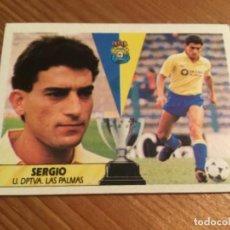 """Coleccionismo Cromos antiguos: CROMO """"SERGIO"""", LIGA 1987-1988. Lote 195142400"""