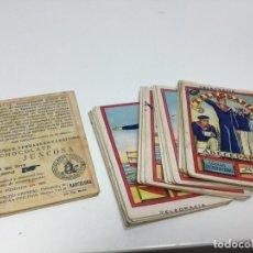 Coleccionismo Cromos antiguos: CARTAS BARAJA CROMOS TELEGRAFIA CHOCOLATES JUNCOSA. Lote 195175530