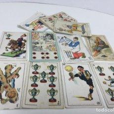 Coleccionismo Cromos antiguos: CARTAS BARAJA CROMOS VARIOS CHOCOLATES ANTIGUOS. Lote 195175725