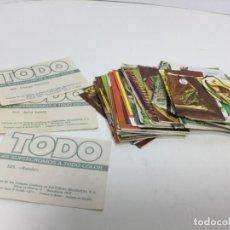 Coleccionismo Cromos antiguos: LOTE CROMOS TODO SUPERCROMOS DE EDITORIAL BRUGUERA S.A.. Lote 195175975