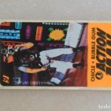 Coleccionismo Cromos antiguos: CROMO ACTION MAN CHICLE BUBBLE GUM, NUNCA PEGADO. Lote 195190070
