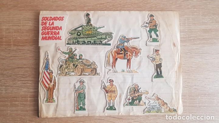 SOLDADOS SEGUNDA GUERRA MUNDIAL PHOSKITOS (Coleccionismo - Cromos y Álbumes - Cromos Antiguos)