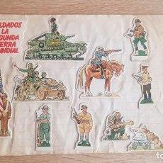 Coleccionismo Cromos antiguos: SOLDADOS SEGUNDA GUERRA MUNDIAL PHOSKITOS. Lote 195243260