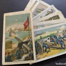Coleccionismo Cromos antiguos: GUERRA EUROPEA-SERIE B COMPLETA 24 CROMOS-VER FOTOS-(V-19.208). Lote 195327400