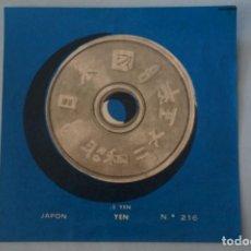 Coleccionismo Cromos antiguos: CROMO DE JAPON DESPEGADO Nº 216 AÑO 1962 DEL ALBUM COLECCION UNIVERSAL DE ALES. Lote 195356340