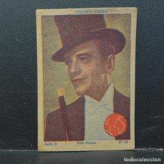 Coleccionismo Cromos antiguos: CROMOS ESFERA SERIE A FRED ASTAIRE Nº 43. Lote 195370808