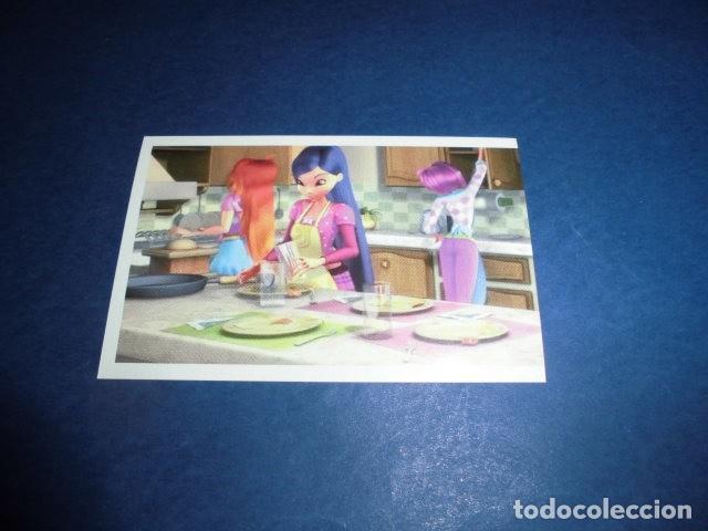 CROMO STICKER DE: WINX CLUB 3D - LA AVENTURA MAGICA - Nº 121 - SIN PEGAR - PANINI 2011. (Coleccionismo - Cromos y Álbumes - Cromos Antiguos)