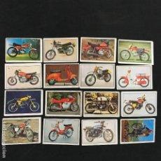 Coleccionismo Cromos antiguos: LOTE 16 CROMOS MOTO 80 EDICIONES ESTE. Lote 55177179