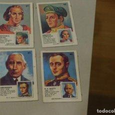 Coleccionismo Cromos antiguos: 4 CROMOS ( 2 PAREJAS) DEL ÁLBUM *BUSCA LA PAREJA*, YUPI. PASTELITOS ORTIZ. AÑO 1977. INF. 3 FOTOS. Lote 195503982