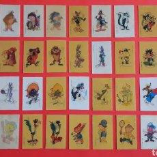 Coleccionismo Cromos antiguos: 36 X CROMO HOLOGRÁFICO VISIORAMA WARNER LOONEY TUNES PROMOCIONALES PREMIUM PANRICO, ORIGINALES 1991.. Lote 195523042