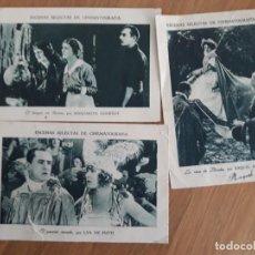 Coleccionismo Cromos antiguos: CROMOS ESCENAS SELECTAS DE CINEMATOGRAFIA, GUILLEN. Lote 196037515