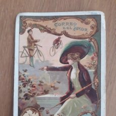 Coleccionismo Cromos antiguos: CROMO CORREO DEL AMOR, Nº 7, JUNCOSA. Lote 196040145