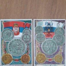Coleccionismo Cromos antiguos: CROMOS BANDERAS Y MONEDAS, DEBRAY. Lote 196042147
