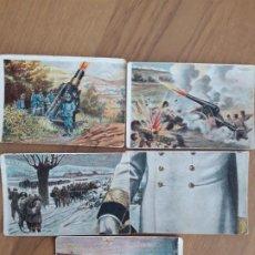Coleccionismo Cromos antiguos: GUERRA EUROPEA AUSTRIA-HUNGRIA, BOIX. Lote 196140981
