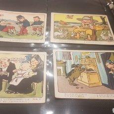 Coleccionismo Cromos antiguos: 4 CROMOS CHOCOLATES JOSE SAGARRA. Lote 196392642