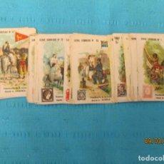 Coleccionismo Cromos antiguos: CORREOS DEL MUNDO CHOCOLATES ADOLFO GARCIA LOTE . Lote 196474808