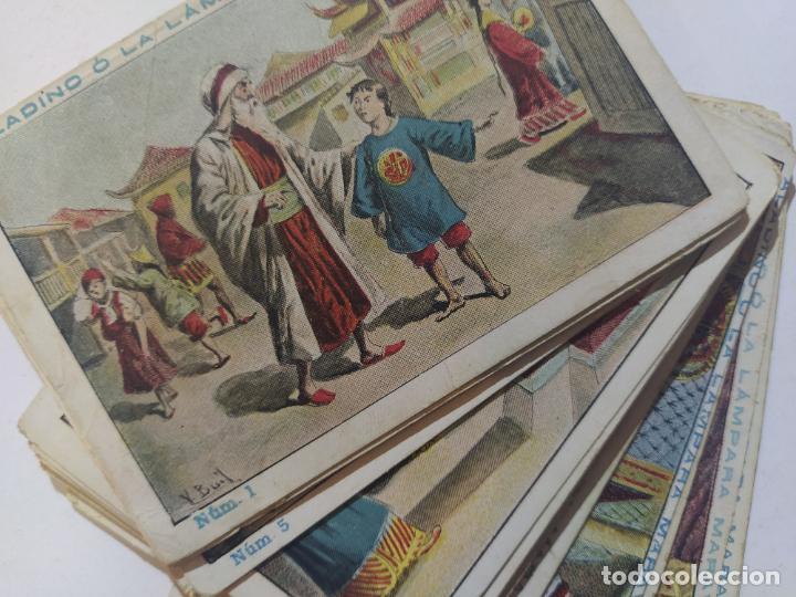 Coleccionismo Cromos antiguos: ALADINO LA LAMPARA MARAVILLOSA-COLECCION COMPLETA 25 CROMOS-VER FOTOS-(V-19.459) - Foto 2 - 197045906