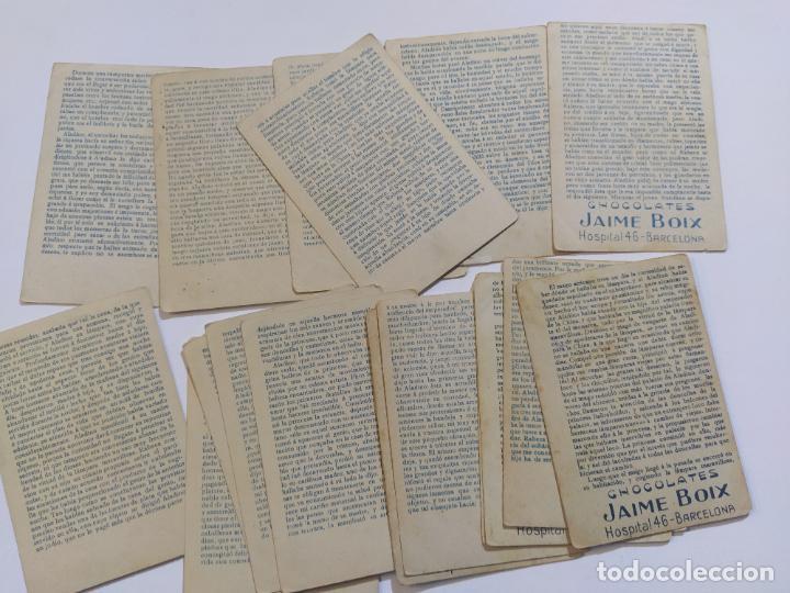 Coleccionismo Cromos antiguos: ALADINO LA LAMPARA MARAVILLOSA-COLECCION COMPLETA 25 CROMOS-VER FOTOS-(V-19.459) - Foto 8 - 197045906