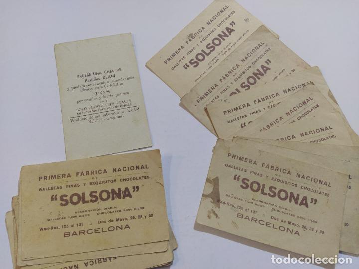 Coleccionismo Cromos antiguos: ADIVINANZAS-SERIE A-COLECCION COMPLETA 20 CROMOS-VER FOTOS-(V-19.462) - Foto 5 - 197046542