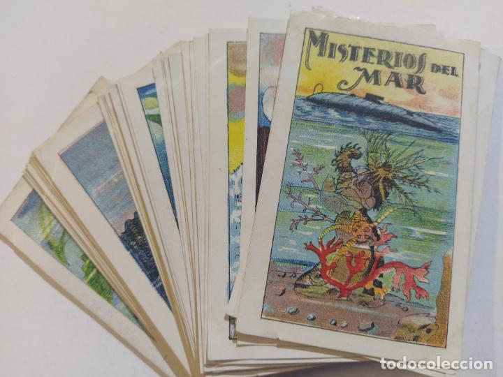MISTERIOS DEL MAR-COLECCION COMPLETA 22 CROMOS-CHOCOLATE MUNDIAL-VER FOTOS-(V-19.465) (Coleccionismo - Cromos y Álbumes - Cromos Antiguos)