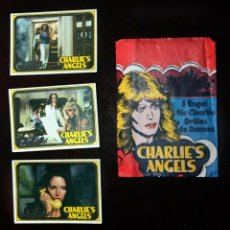 Coleccionismo Cromos antiguos: CHARLIE´S ANGELS 1979 MONTY GUM CARDS FARRAH FAWCETT NETHERLAND CROMOS HOLANDA.. Lote 197497966