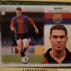 Coleccionismo Cromos antiguos: CROMO LIGA 99-00 COLOCA NANO FC BARCELONA RECORTADO. Lote 197689256