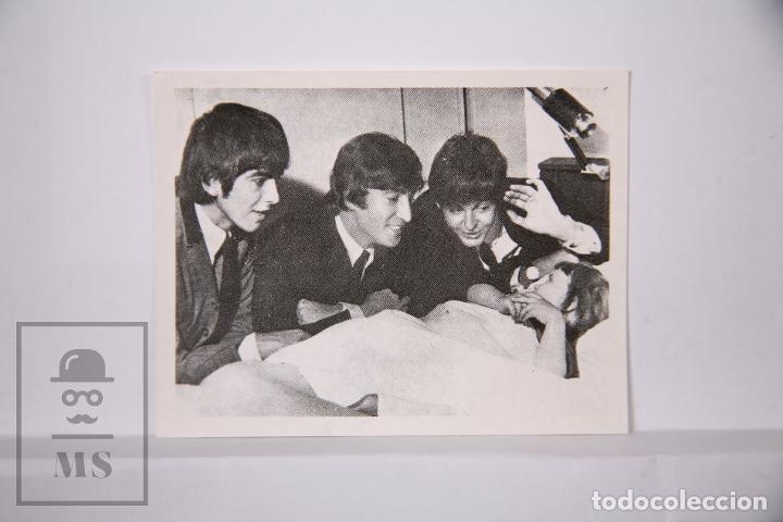 CROMO THE BEATLES EN FOTOS - NÚMERO 93 - BRUGUERA, 1966 - FOTOCROMO (Coleccionismo - Cromos y Álbumes - Cromos Antiguos)