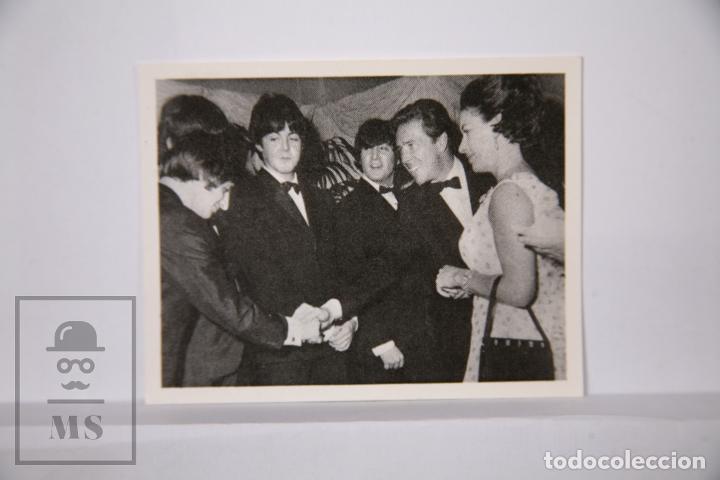 CROMO THE BEATLES EN FOTOS - NÚMERO 95 - BRUGUERA, 1966 - FOTOCROMO (Coleccionismo - Cromos y Álbumes - Cromos Antiguos)