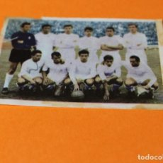 Coleccionismo Cromos antiguos: CROMO DE FUTBOL. ALBUM 1967 RUIZ ROMERO TORNEOS CONTINENTALES. NUM. 1-2. REAL MADRID.. Lote 197901400
