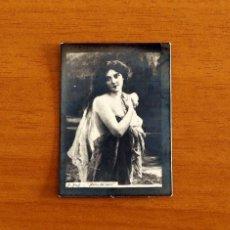 Coleccionismo Cromos antiguos: FOTOTIPIAS PRINCIPIOS DEL SIGLO XX ARTE PINTURA - A. BOYE, ANTES DEL BAÑO - TAMAÑO 5'5X4 CM.. Lote 198429838