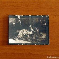 Coleccionismo Cromos antiguos: FOTOTIPIAS PRINCIPIOS DEL SIGLO XX ARTE PINTURA - A. MUÑOZ, LOS AMANTES DE TERUEL. Lote 198430092
