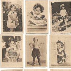 Coleccionismo Cromos antiguos: 38 CROMOS DIFERENTES DE SHIRLEY TEMPLE. Lote 198557246