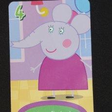 Coleccionismo Cromos antiguos: CARTA PEPA PIG-ABD 2003-MAMA ELEPHANT ESTA DE FIESTA.. Lote 198846603