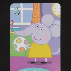 Coleccionismo Cromos antiguos: CARTA PEPA PIG-ABD 2003-EMILY ELEPHANT JUEGA AL BALON.. Lote 198847712