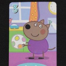Coleccionismo Cromos antiguos: CARTA PEPA PIG-ABD 2003-DANNY DOG JUEGA AL BALON.. Lote 198848363