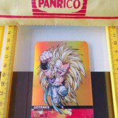 Coleccionismo Cromos antiguos: CROMO TRADING CARD LAMINCARDS DRAGON BALL Z SUPER SAIYAN LAMINCARD ORO Nº 64 GOTENKS. Lote 199070931