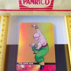 Coleccionismo Cromos antiguos: CROMO TRADING CARD LAMINCARDS DRAGON BALL Z SUPER SAIYAN LAMINCARD ORO Nº 78 TEN SHIN HAN. Lote 199071025