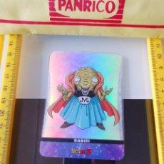 Colecionismo Cromos antigos: CROMO TRADING CARD LAMINCARDS DRAGON BALL Z SUPER SAIYAN LAMINCARD PLATINO Nº 185 BABIDI. Lote 199077623