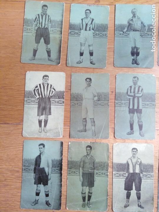 Coleccionismo Cromos antiguos: Cromos Fútbol años 20 - Foto 2 - 199253923
