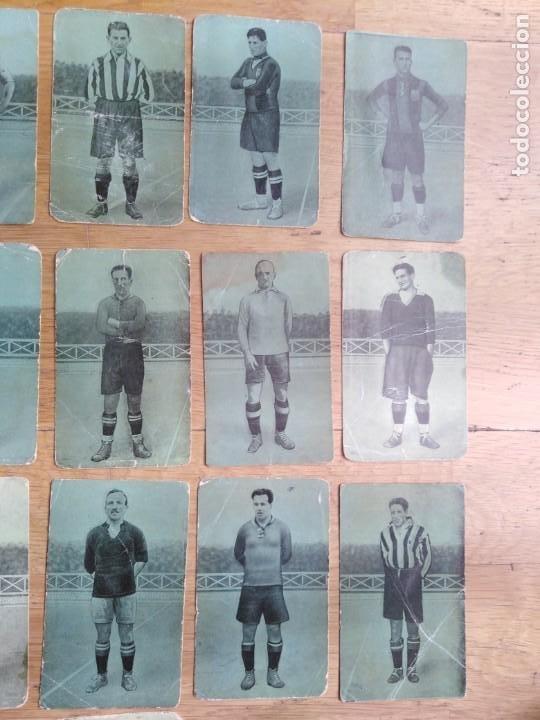 Coleccionismo Cromos antiguos: Cromos Fútbol años 20 - Foto 3 - 199253923