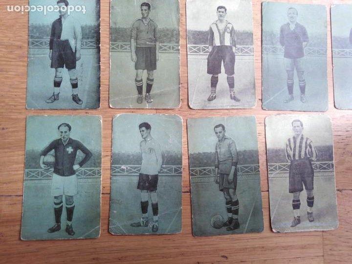 Coleccionismo Cromos antiguos: Cromos Fútbol años 20 - Foto 4 - 199253923