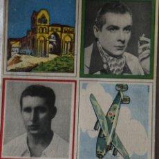 Coleccionismo Cromos antiguos: CROMOS ENCICLOPEDIA CULTURAL DE CHICOS BLOQUE DE 4 CROMOS VER DESCRIPCION Y FOTOS. Lote 199366801