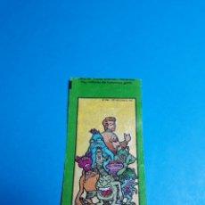 Coleccionismo Cromos antiguos: CROMO CHICLE CAZAFANTASMAS DUNKIN. Lote 199531028