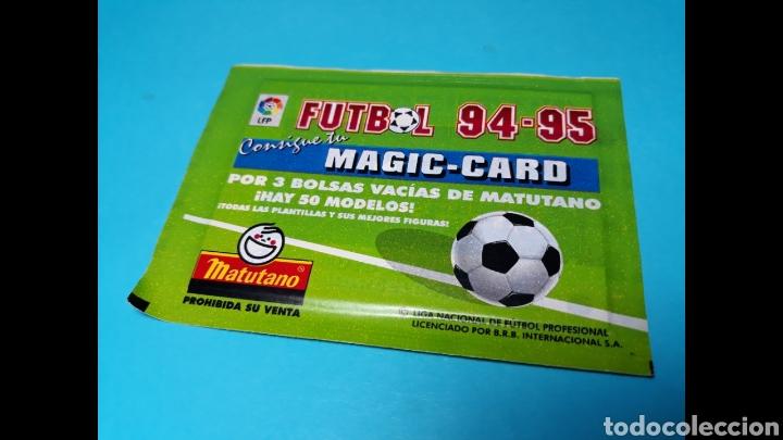 SOBRE CERRADO MAGIC CARD MATUTANO,SIN ABRIR (Coleccionismo - Cromos y Álbumes - Cromos Antiguos)