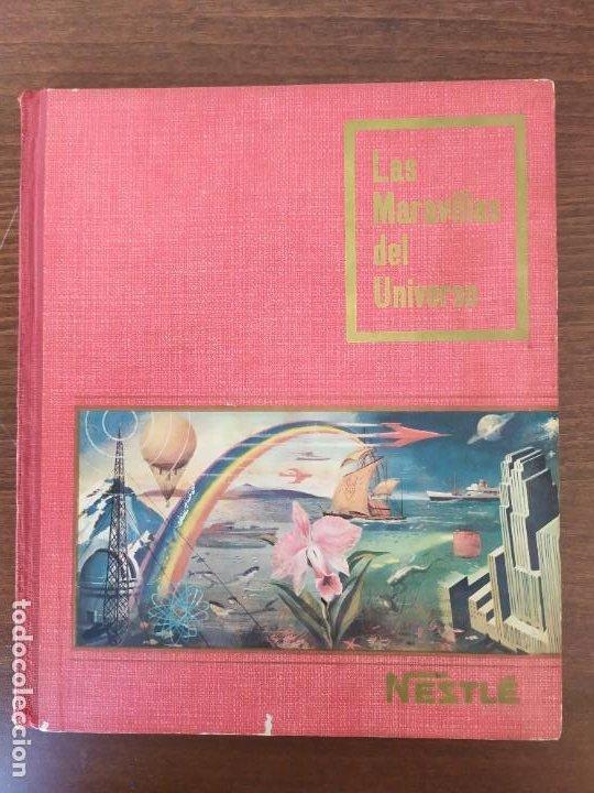 ALBUM NESTLÉ - LAS MARAVILLAS DEL UNIVERSO COMPLETO 1955 (Coleccionismo - Cromos y Álbumes - Cromos Antiguos)