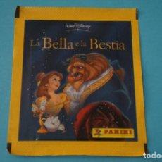 Collezionismo Figurine antiche: SOBRE DE CROMOS SIN ABRIR DE LA BELLA Y LA BESTIA DE PANINI. Lote 200737521