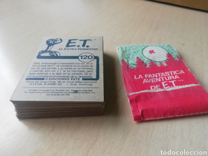 Coleccionismo Cromos antiguos: Lote 48 cromos E.T El Extraterrestre.. Ediciones Este 1982.. Distintos +1 sobre Abierto..Sin pegar.. - Foto 2 - 200813835