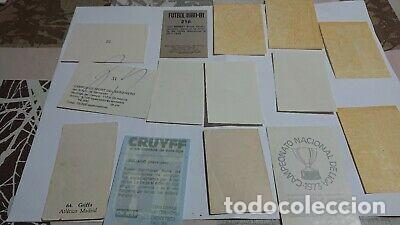 Coleccionismo Cromos antiguos: LOTE DE CROMOS DE FÚTBOL ANTIGUOS - Foto 2 - 201209498